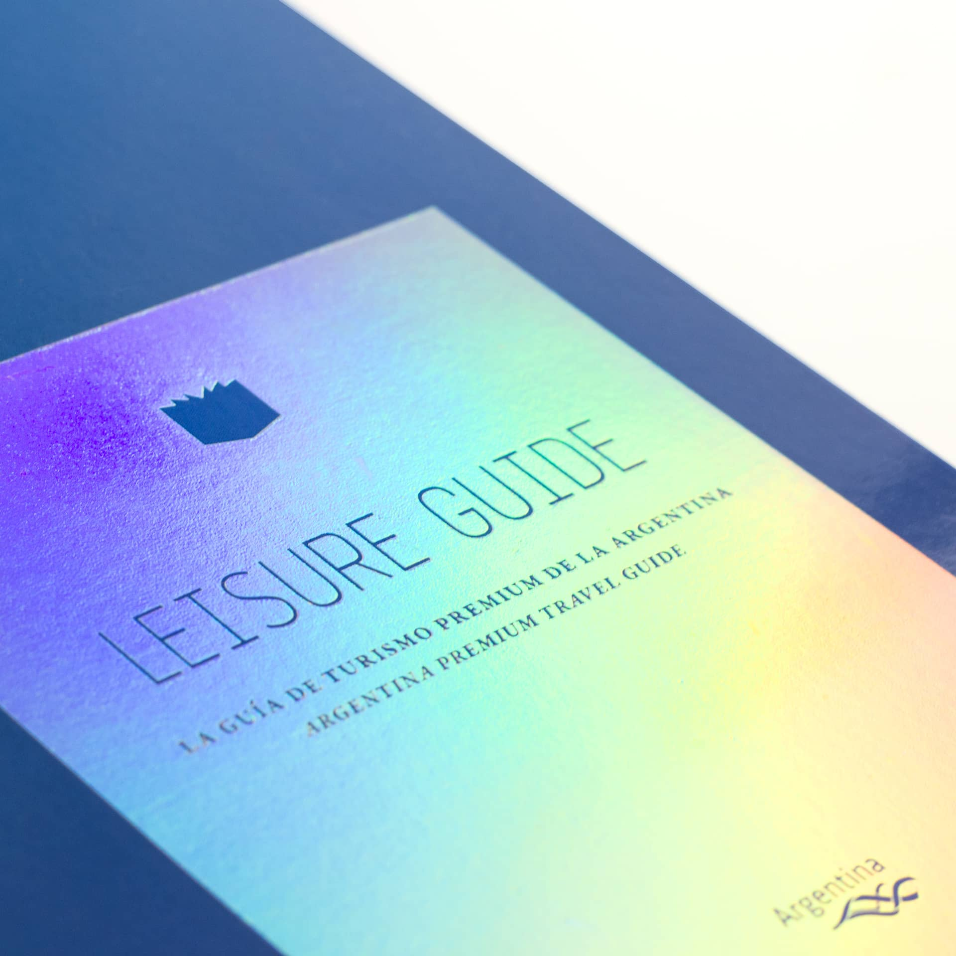 Leisure Guide 2015. Name. Design Agency.