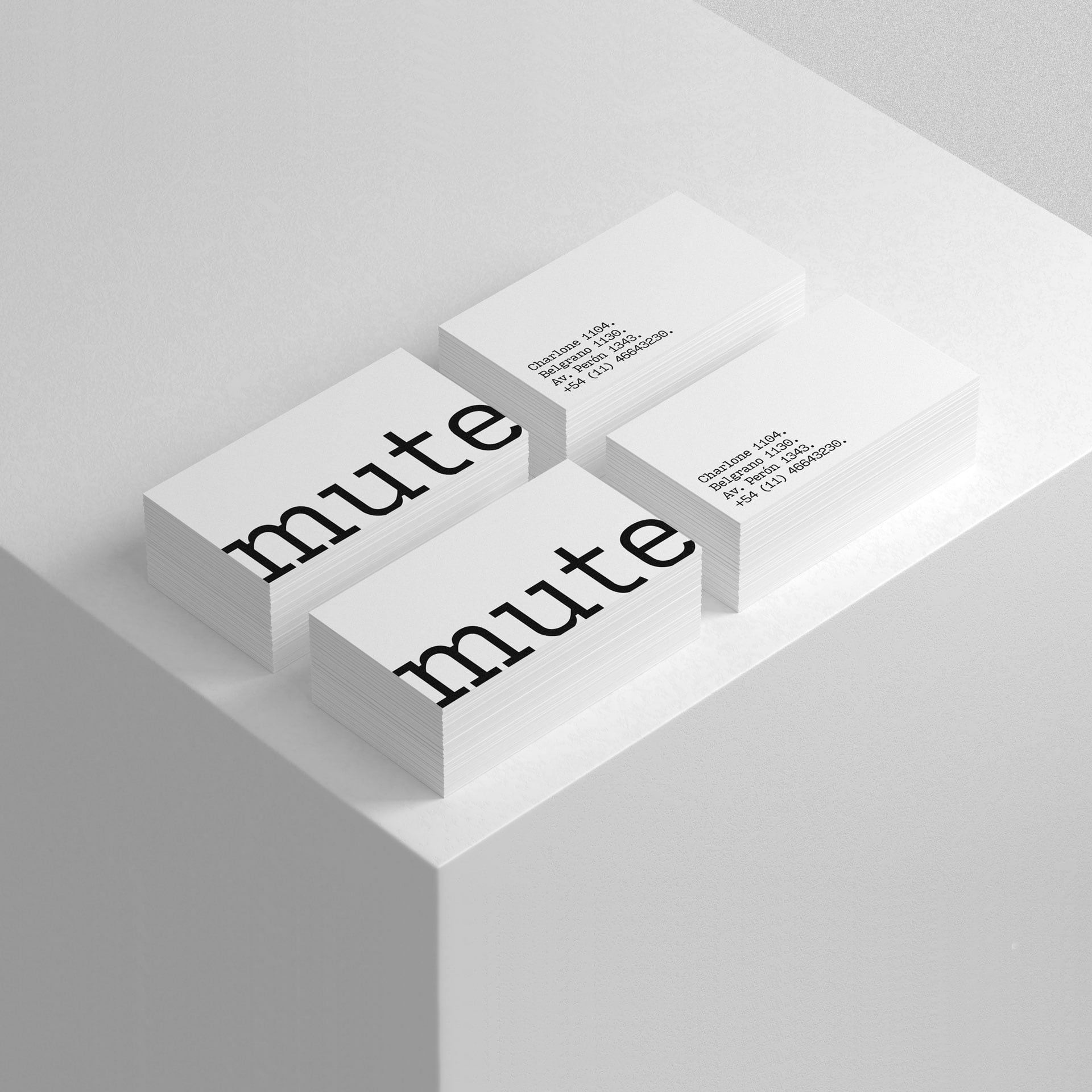 Mute. Name. Design Agency.